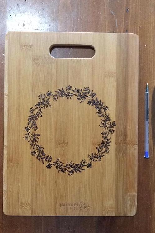 Botanical Cutting Board