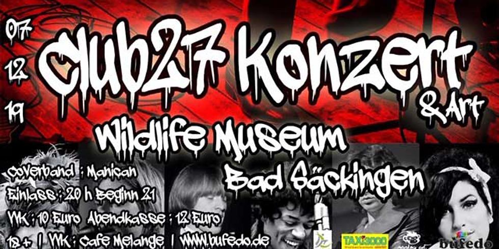 CLUB 27 KONZERT & ART
