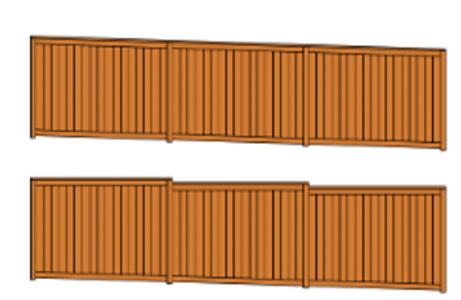 Rain city fence