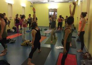 Practice teaching session during Spira's 200 hour teacher training.