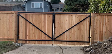 Rain City Fence custom projects