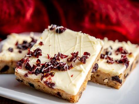 ON SAFARI FOODS WHITE CHOCOLATE CRANBERRY BARS