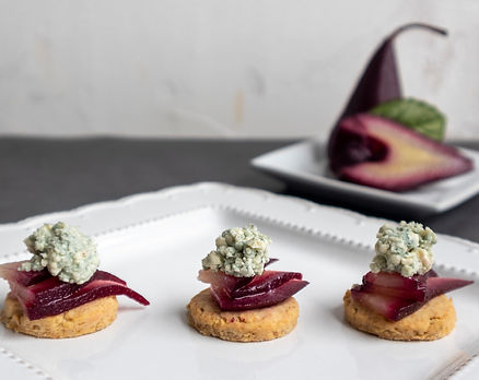 Appetizer made by Seattle caterer on Safari Foods