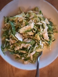 Hearty Caesar Salad sans raw egg, no yoke!