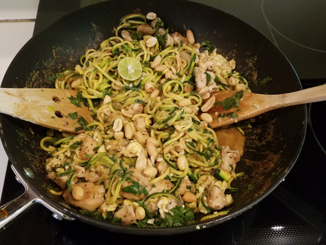 Vegetables Rich, Happy Belly Pad Thai