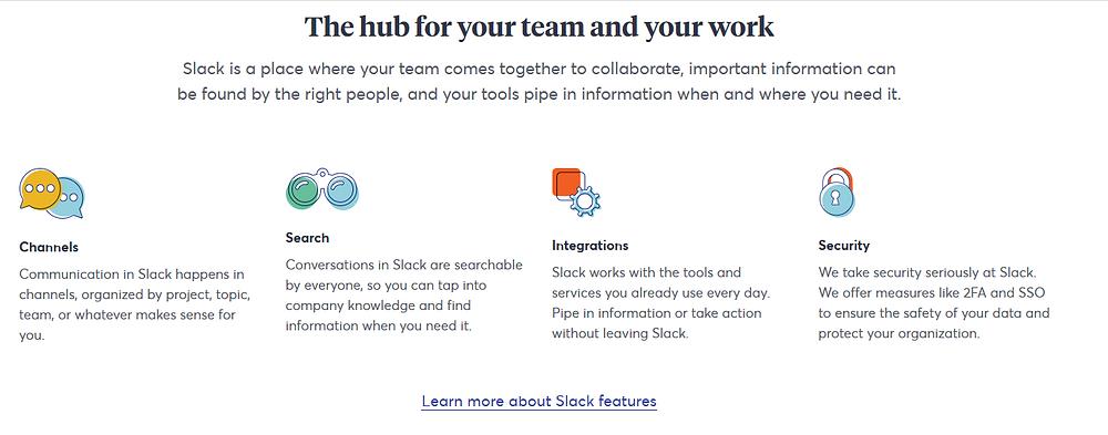 Slack's value proposition