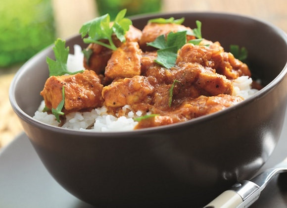 Chicken Curry with Coconut Rice, Single Serving