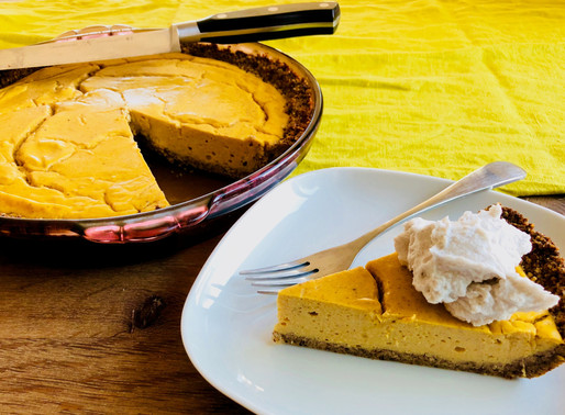 Keto Pumpkin Cheesecake from Heidi