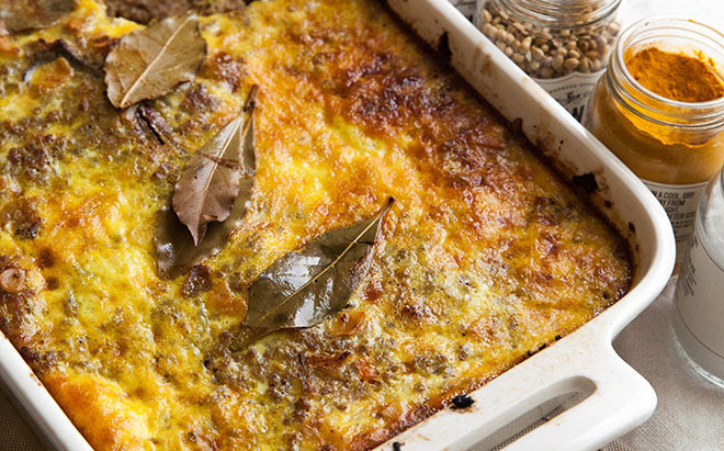 A South African classic - Bobotie
