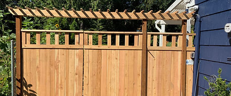 Rain City Fence custom projects