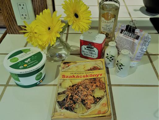 Dora's Hungarian Squash Stew with Lemon Herbed Chicken