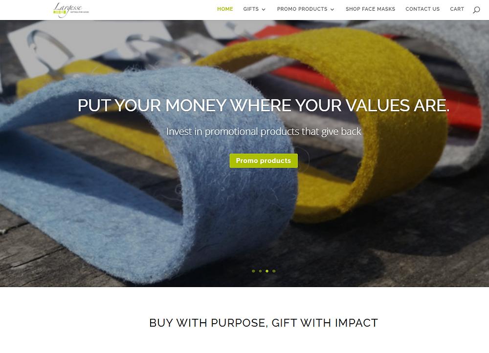 Brand messaging example - Sugarbird Marketing