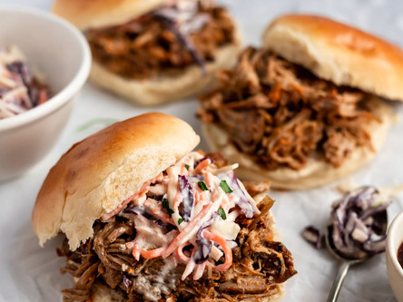 Smoked Pulled Pork Sandwiches + Live Music this Saturday