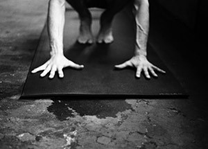 Everything that is important happens  on the inside. The pose, the asana is  just there to ask the question. It is you and your mat....