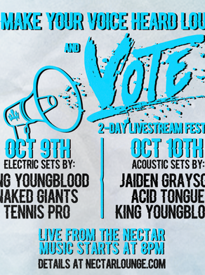 MAKE YOUR VOICE HEARD LOUD AND VOTE FEST