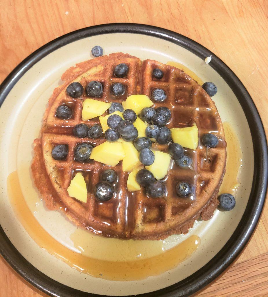 Gluten Free Vegan Waffle