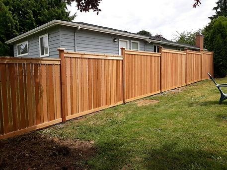 Rain City Fence Full Estate with Cap