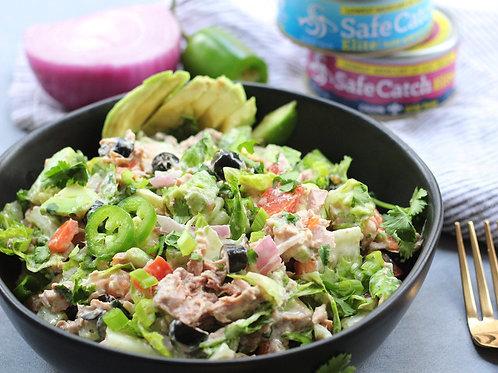 Carlos' Mexican Tuna Salad, Fresh