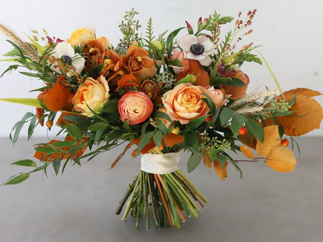 45 strikingly beautiful fall flower bouquets