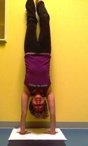 brenda handstand