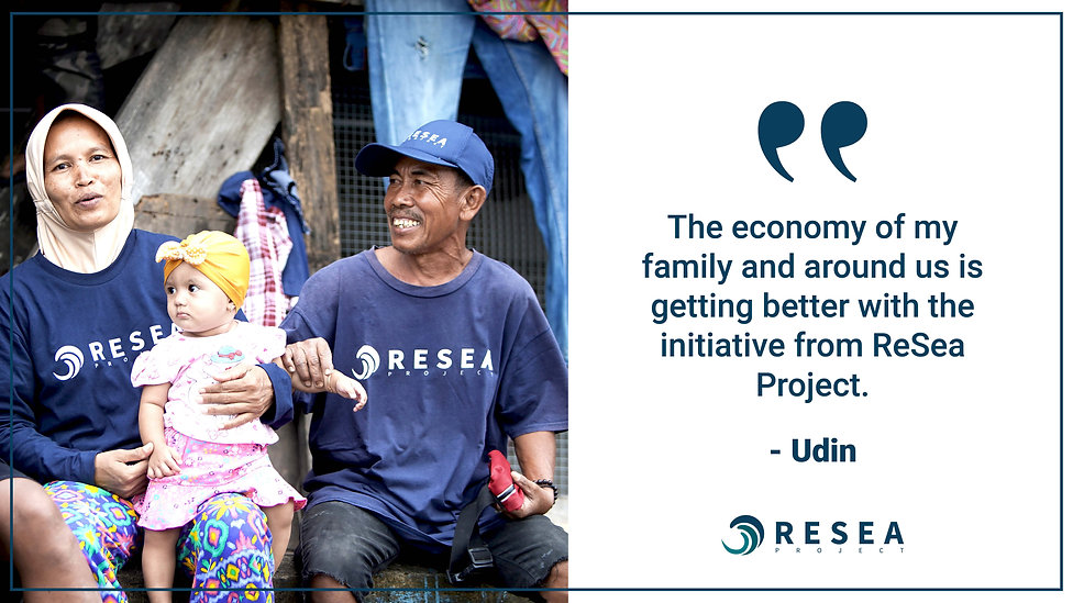 ReSea Project - Udin testimonial - wide