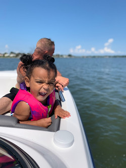 Kids Boating in Virginia Beach