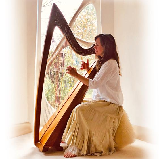 Harp To Heart at Shekin Yoga Retreat