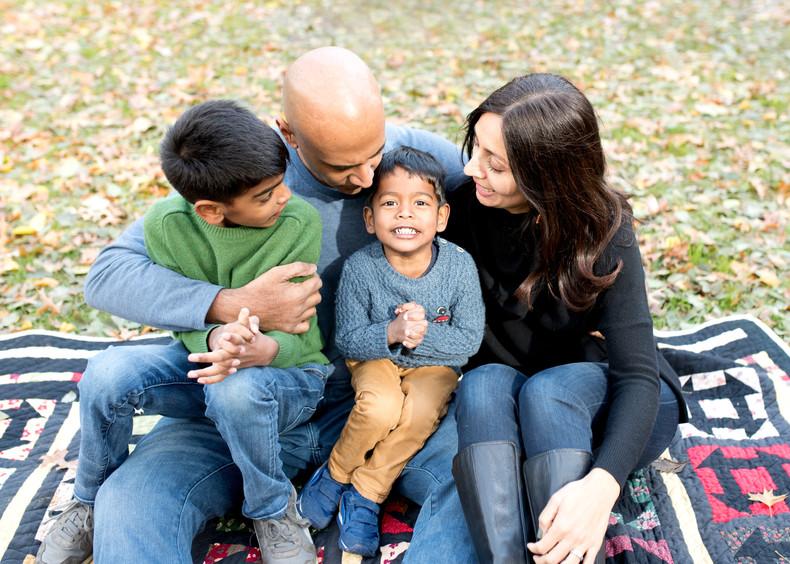 Mehta Family | Washington Square Park, NYC Family Photographer