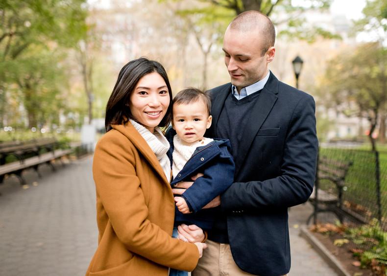 Bruckman Family | Madison Square Park, New York City family photographer