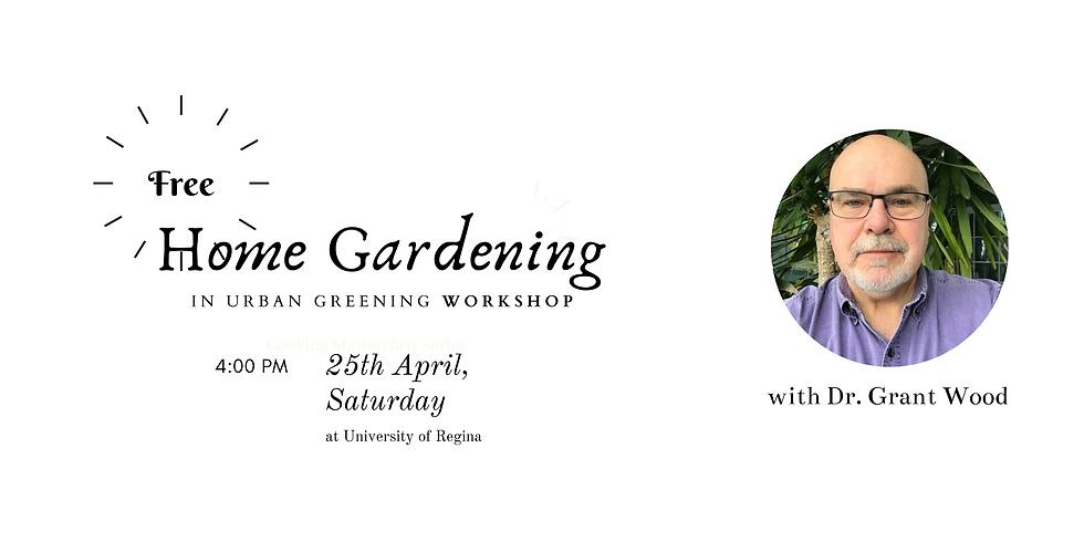 Home Gardening in Urban Greening