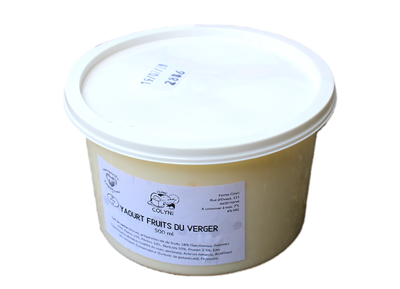 Colyn Yaourt Fruits du Verger - 500ml