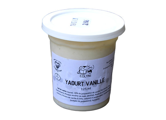 Colyn Yaourt Vanille - 125ml