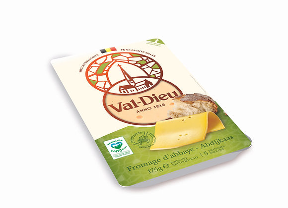 Val-Dieu Fromage d'Abbaye en tranches - 175g