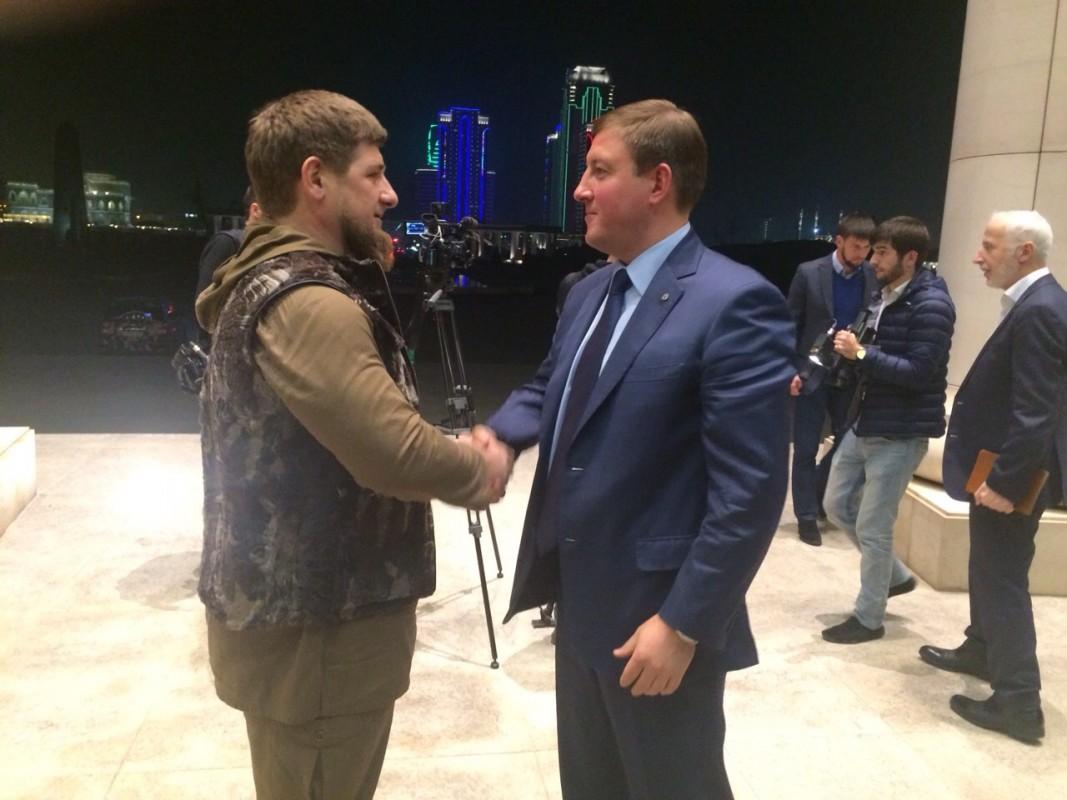 Андрей Турчак и Рамзан Кадыров