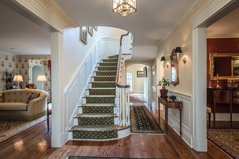 Front Entry - Traditional Georgian Colonial