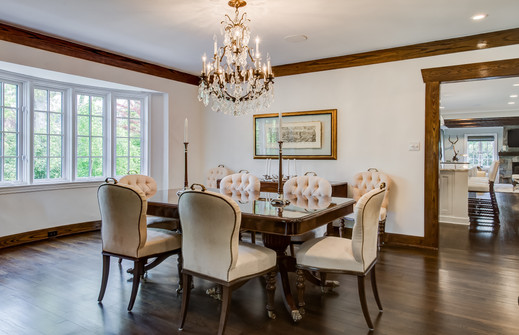 Dining Room - French Normandy Revival