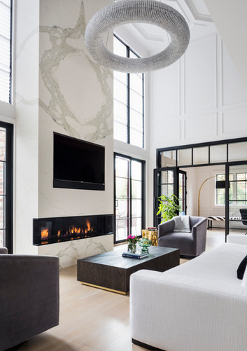 "Living Room - Center Hall ""Glamonial"""