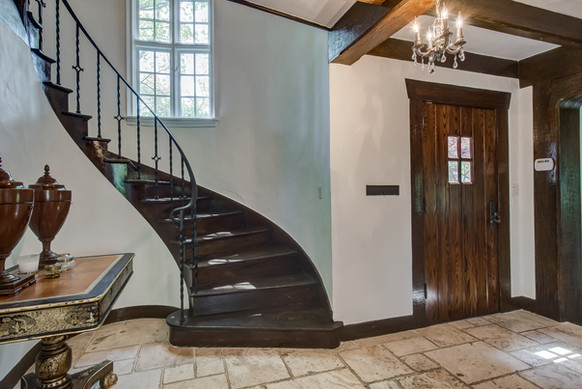 Entry - French Normandy Tudor