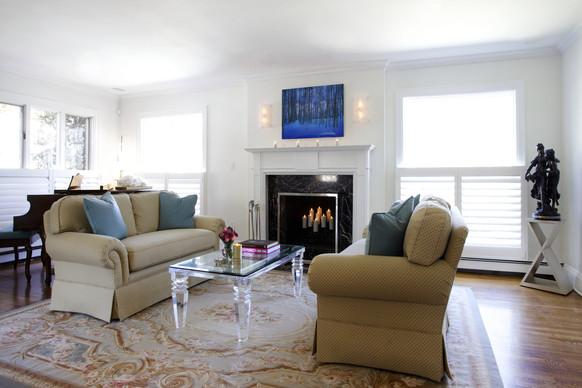 Contemporary Formal Living Room