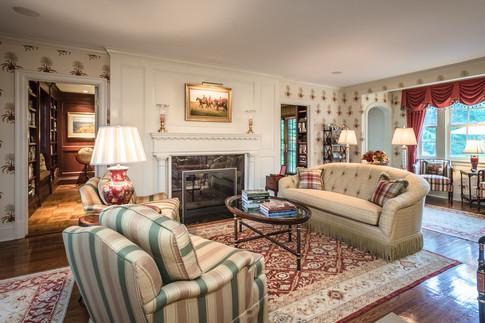 Formal Living Room - Traditional Georgian Colonial