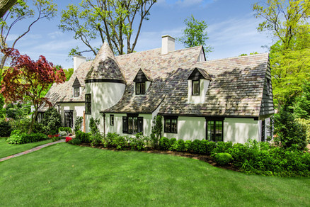 Front Exterior - French Normandy Tudor