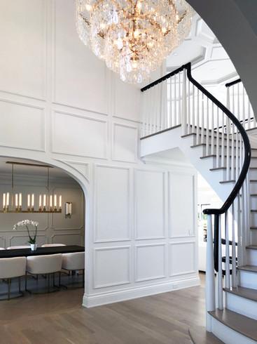 "Staircase/Second Floor Landing - Center Hall ""Glamonial"""