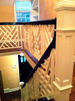 Custom Staircase Handrail