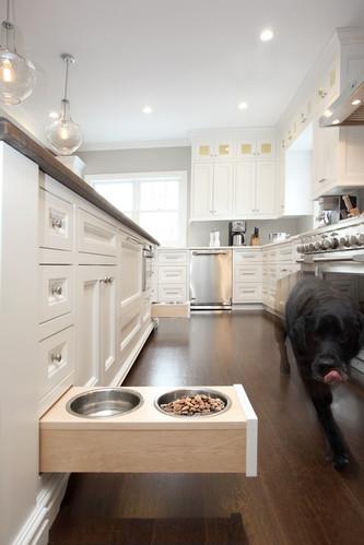 Tidy Dog Bowl Storage