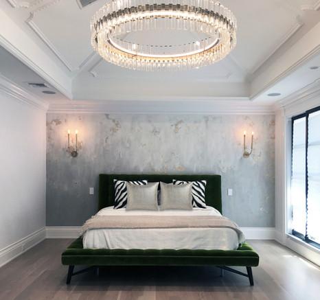 """Master Bedroom - Center Hall """"Glamonial"""""""