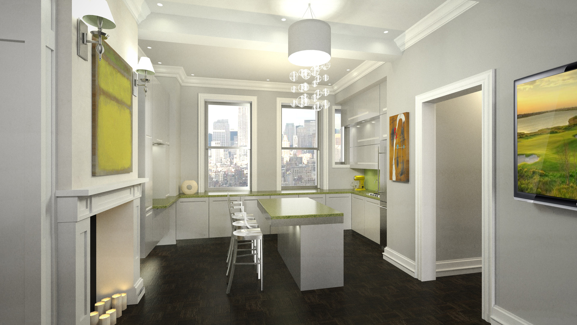 City Living Modern Kitchen