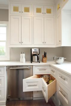 Angled Corner Cabinet