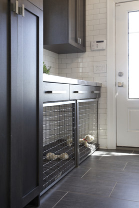 Built-in Dog Cage