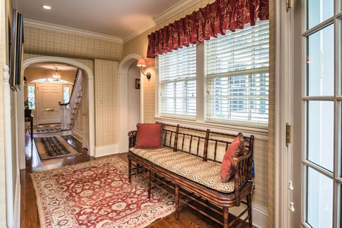 Back Hallway/Entry - Traditional Georgian Colonial