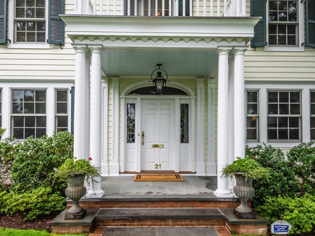 Traditional Colonial Entry